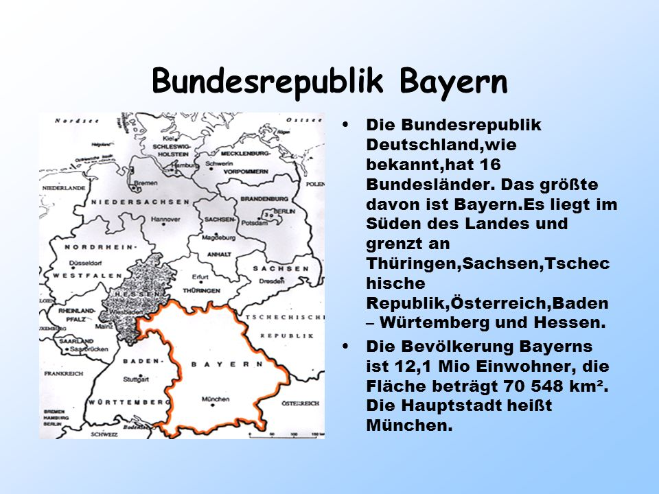 Bundesrepublik Bayern