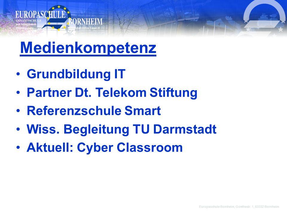 Medienkompetenz Grundbildung IT Partner Dt. Telekom Stiftung