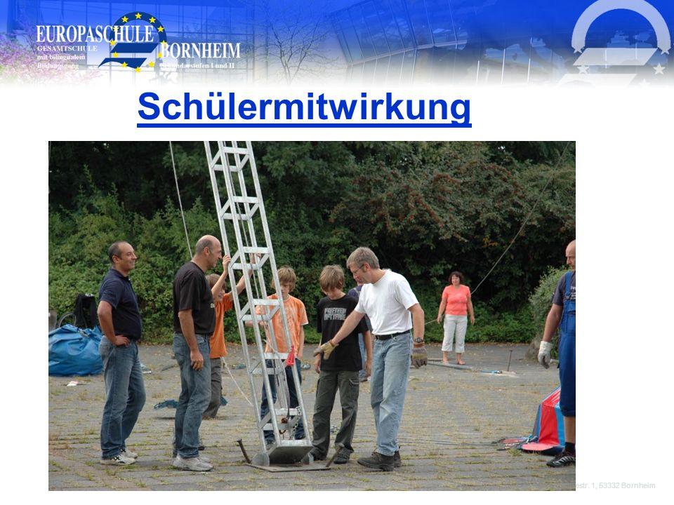 Schülermitwirkung Europaschule Bornheim, Goethestr. 1, 53332 Bornheim