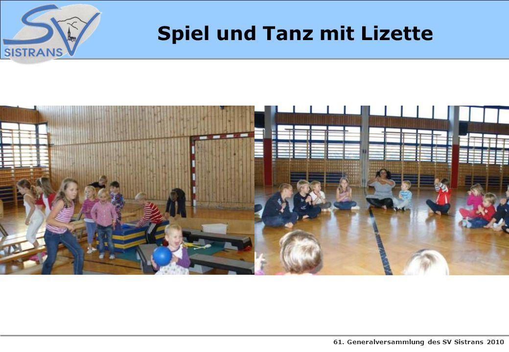 Spiel und Tanz mit Lizette