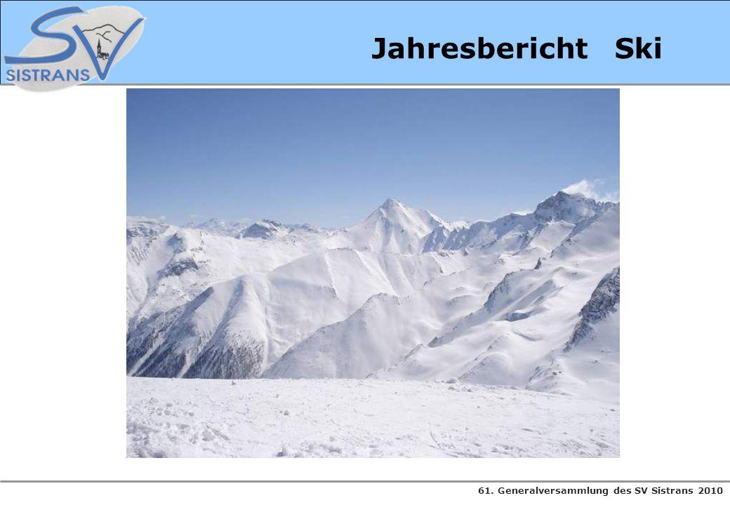 Jahresbericht Ski