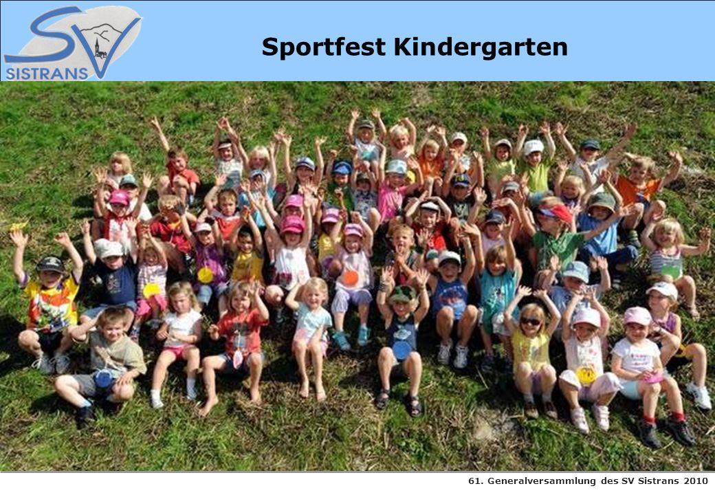 Sportfest Kindergarten