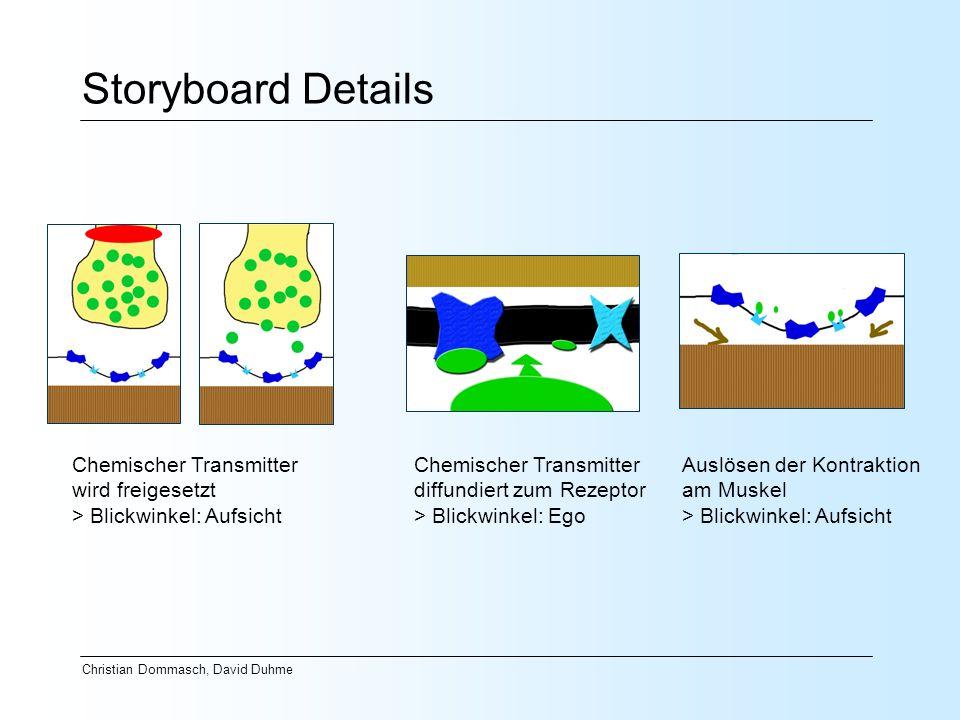 Storyboard Details Chemischer Transmitter wird freigesetzt