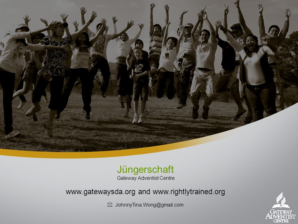 Jüngerschaft 1st time to NZ, Auckland Thank you for invitation