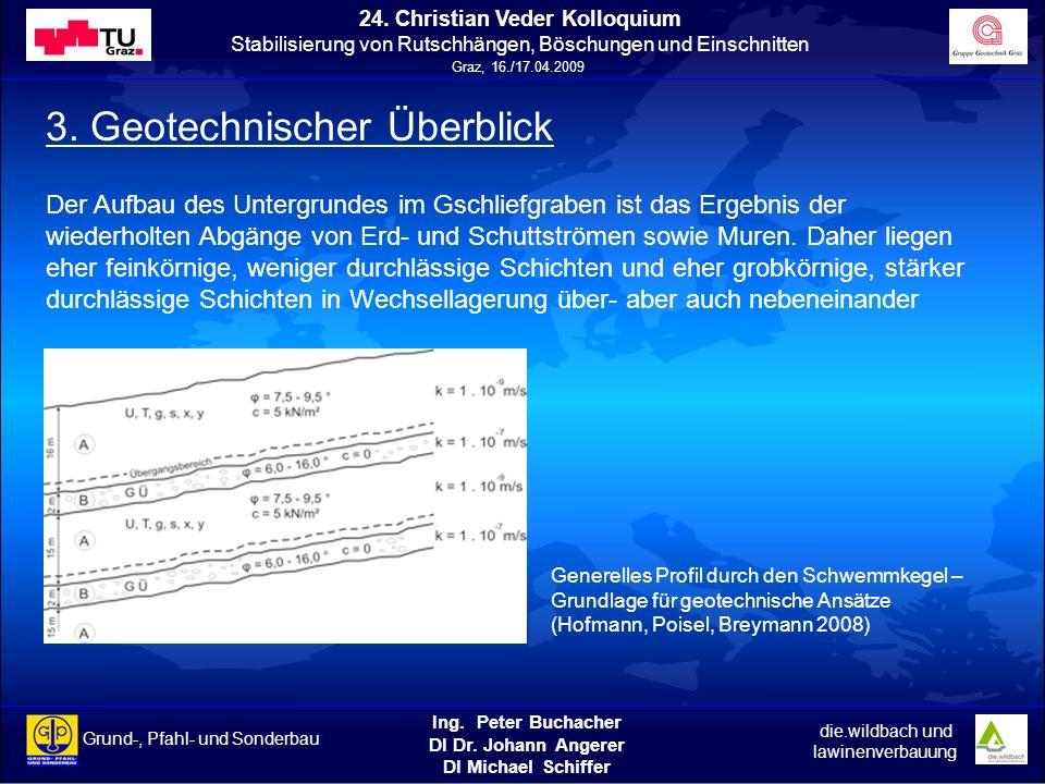 3. Geotechnischer Überblick