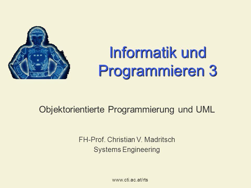 Informatik und Programmieren 3