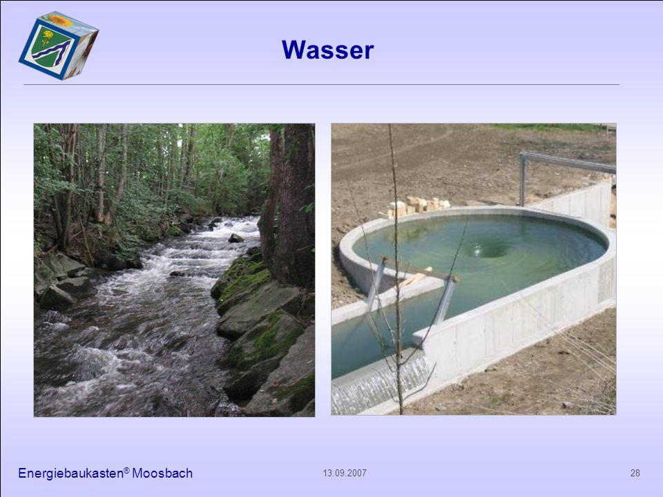 Wasser Energiebaukasten® Moosbach 13.09.2007