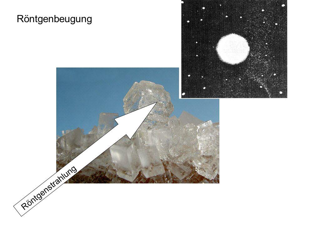 Fotoplatte Röntgenbeugung Röntgenstrahlung