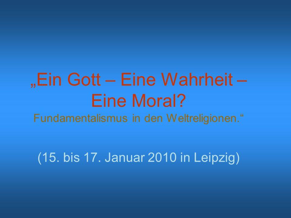(15. bis 17. Januar 2010 in Leipzig)