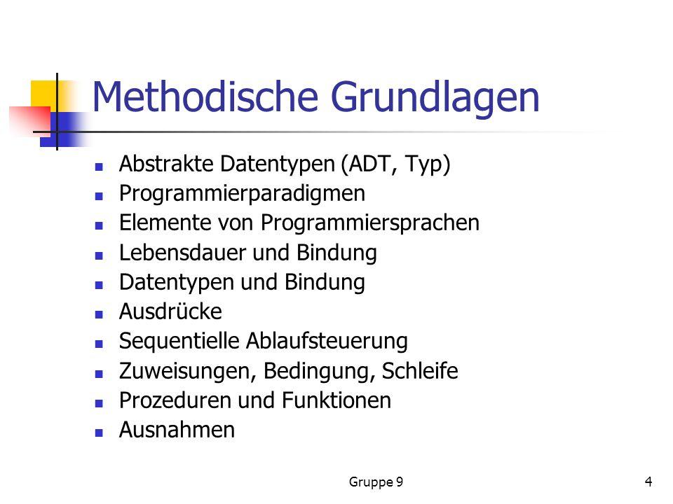 Methodische Grundlagen