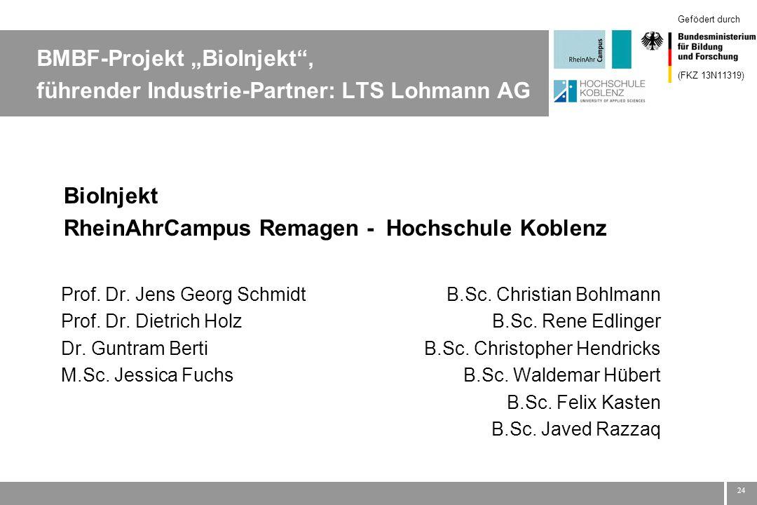 BioInjekt RheinAhrCampus Remagen - Hochschule Koblenz