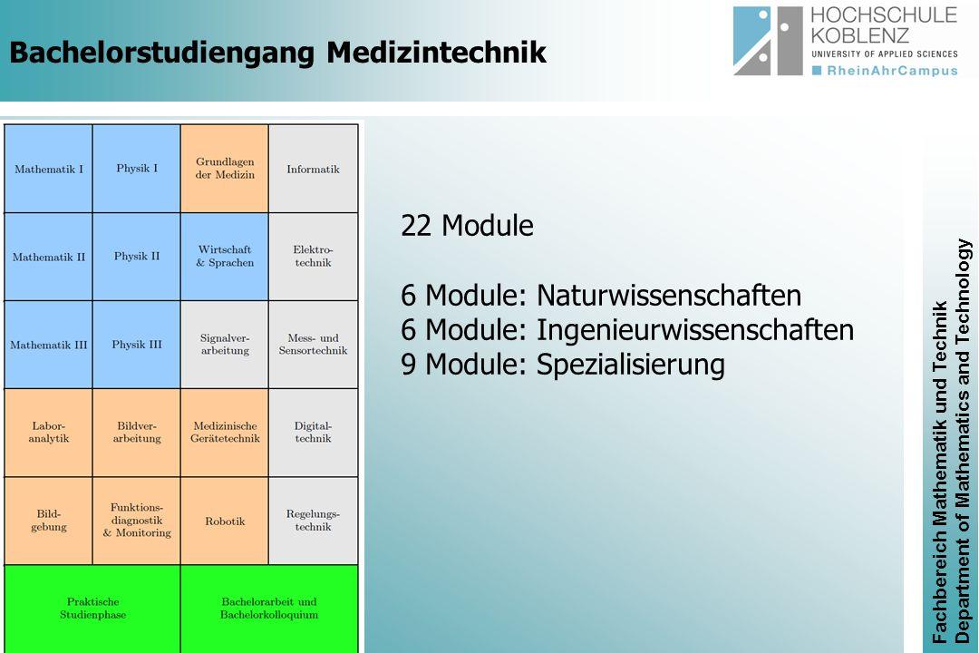 Bachelorstudiengang Medizintechnik