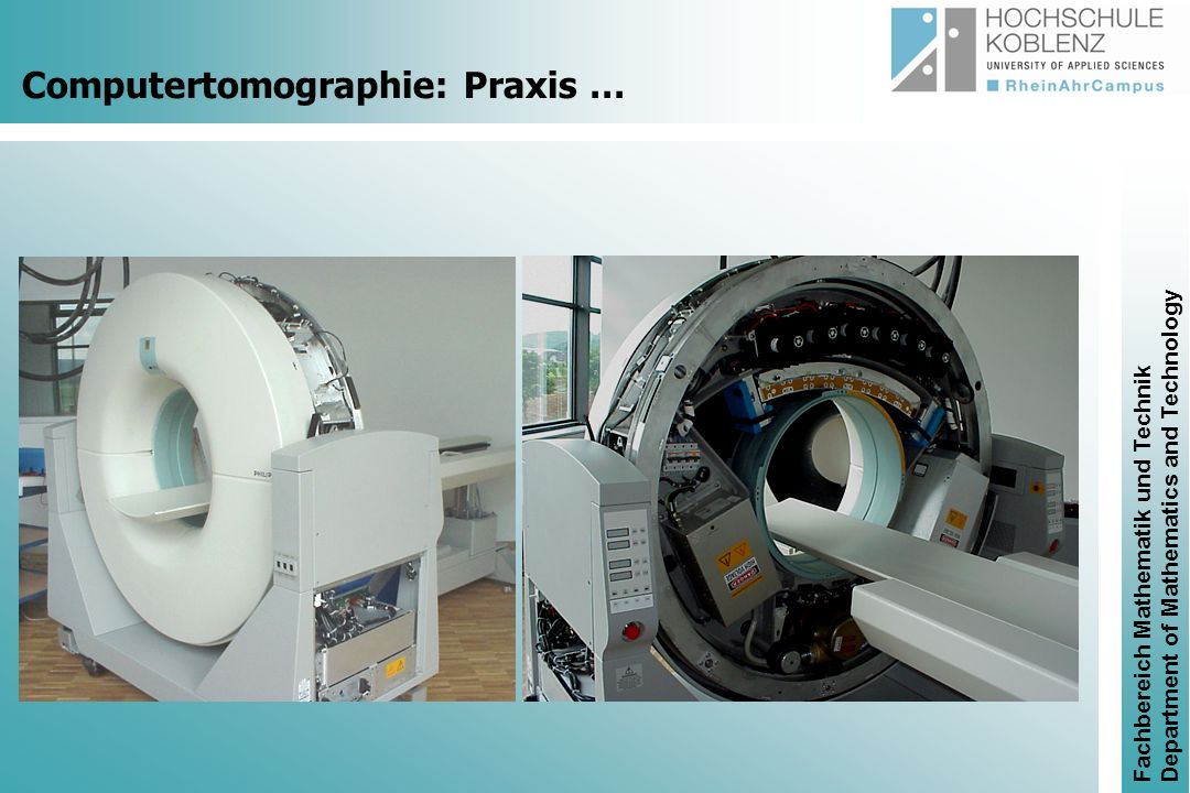 Computertomographie: Praxis …