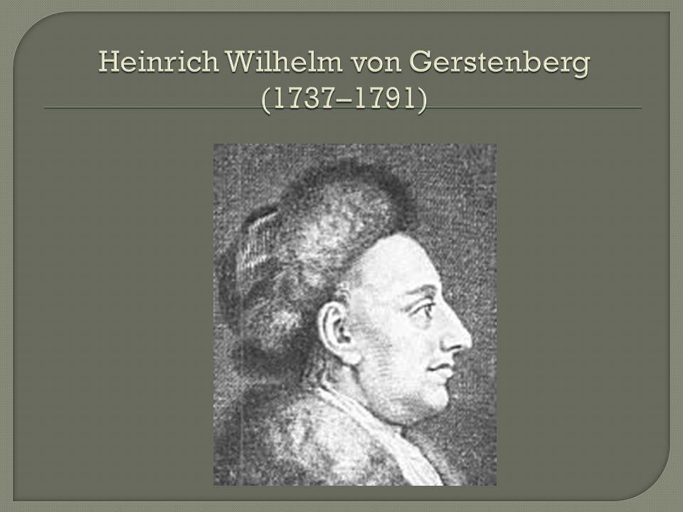 Heinrich Wilhelm von Gerstenberg (1737–1791)