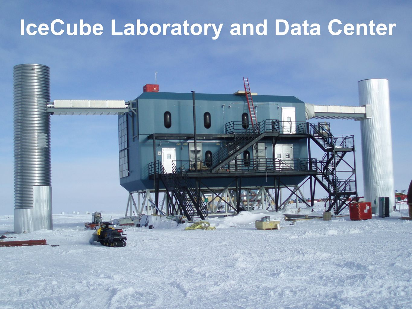 IceCube Laboratory and Data Center