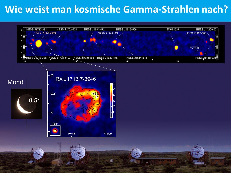 Wie weist man kosmische Gamma-Strahlen nach