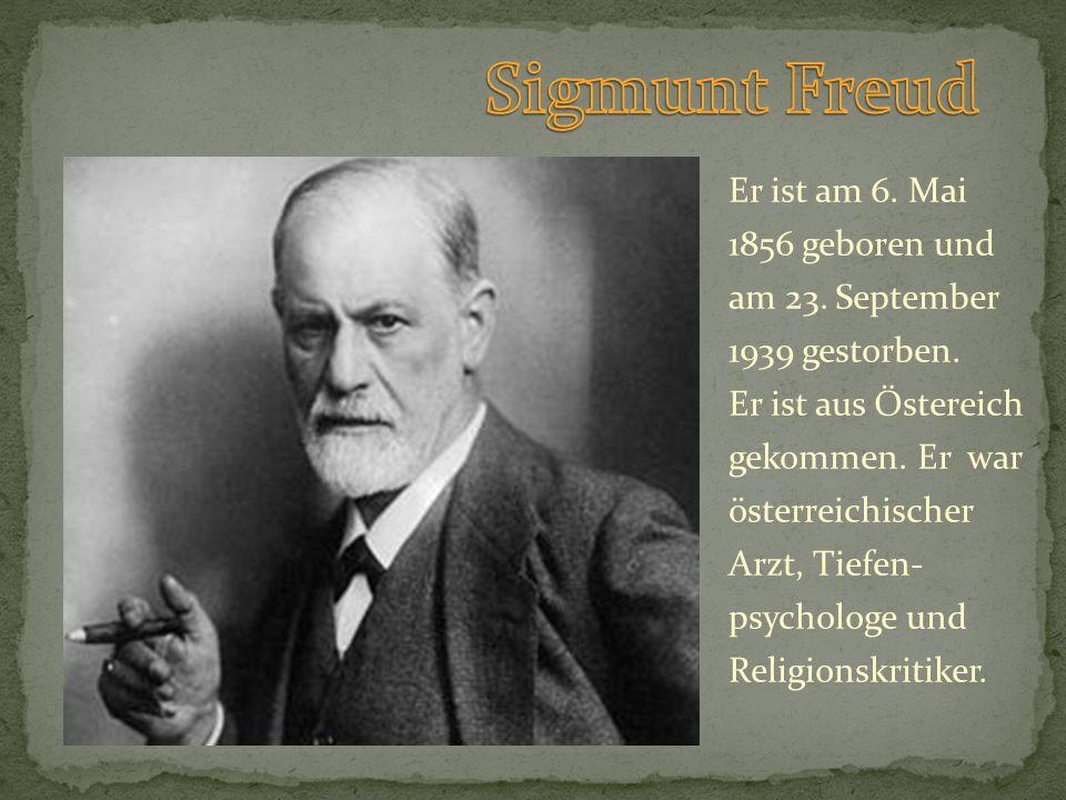 Sigmunt Freud
