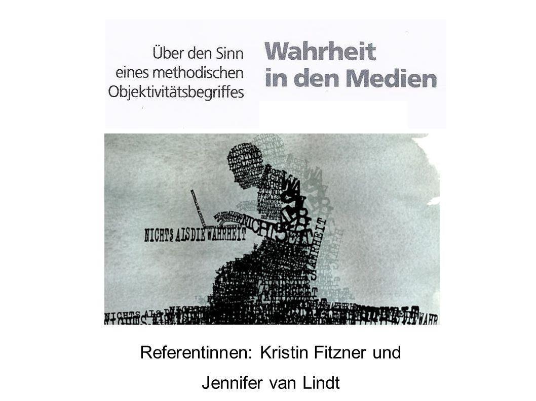 Referentinnen: Kristin Fitzner und
