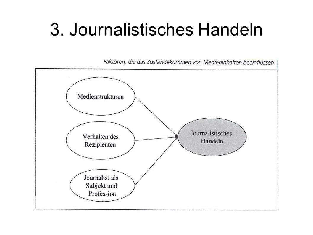 3. Journalistisches Handeln
