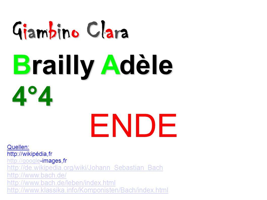 ENDE Giambino Clara Brailly Adèle 4°4