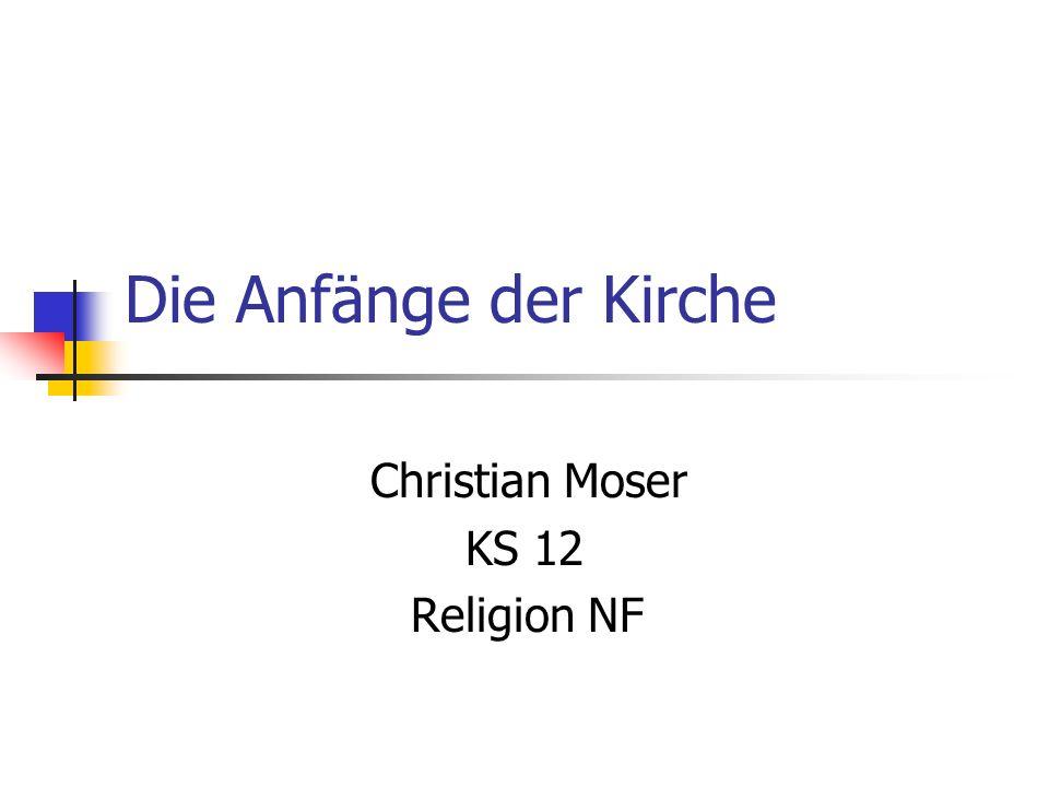 Christian Moser KS 12 Religion NF