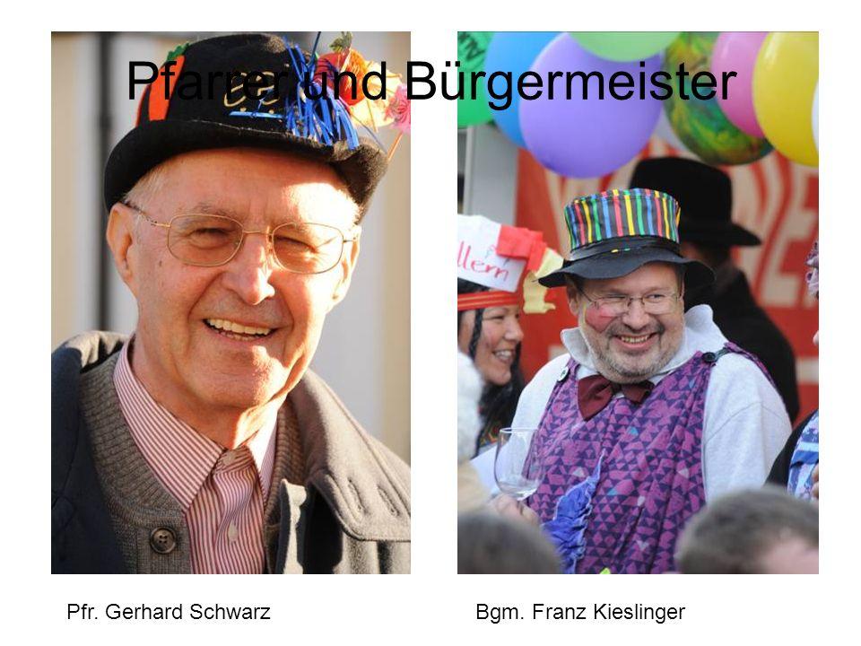 Pfarrer und Bürgermeister