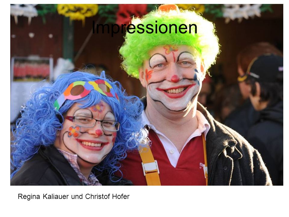 Impressionen Regina Kaliauer und Christof Hofer