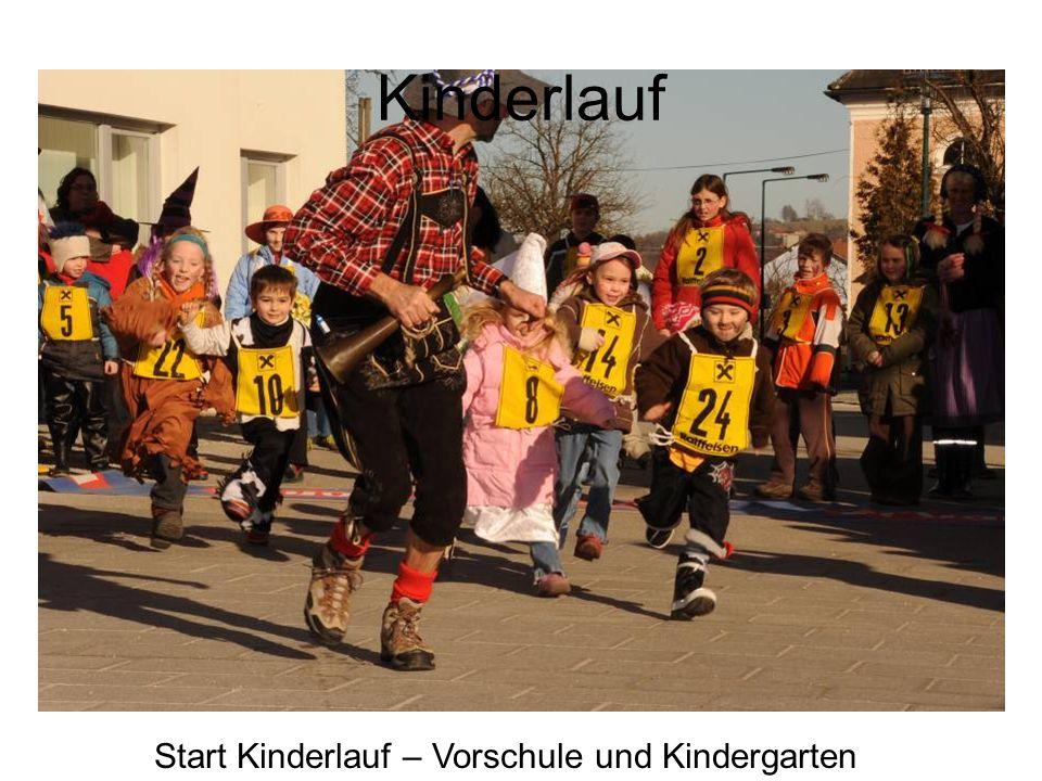 Kinderlauf Start Kinderlauf – Vorschule und Kindergarten