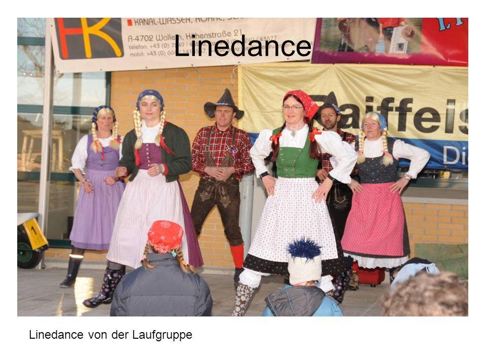 Linedance Linedance von der Laufgruppe