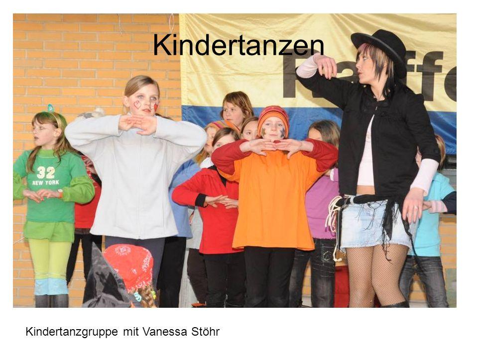 Kindertanzen Kindertanzgruppe mit Vanessa Stöhr