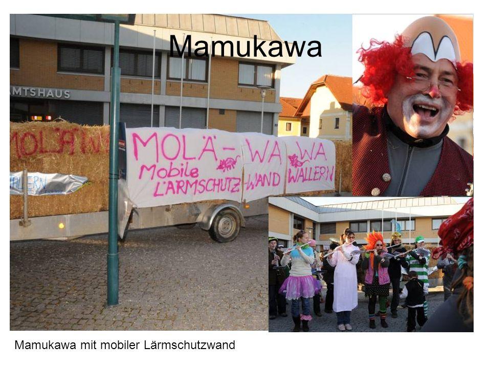 Mamukawa Mamukawa mit mobiler Lärmschutzwand