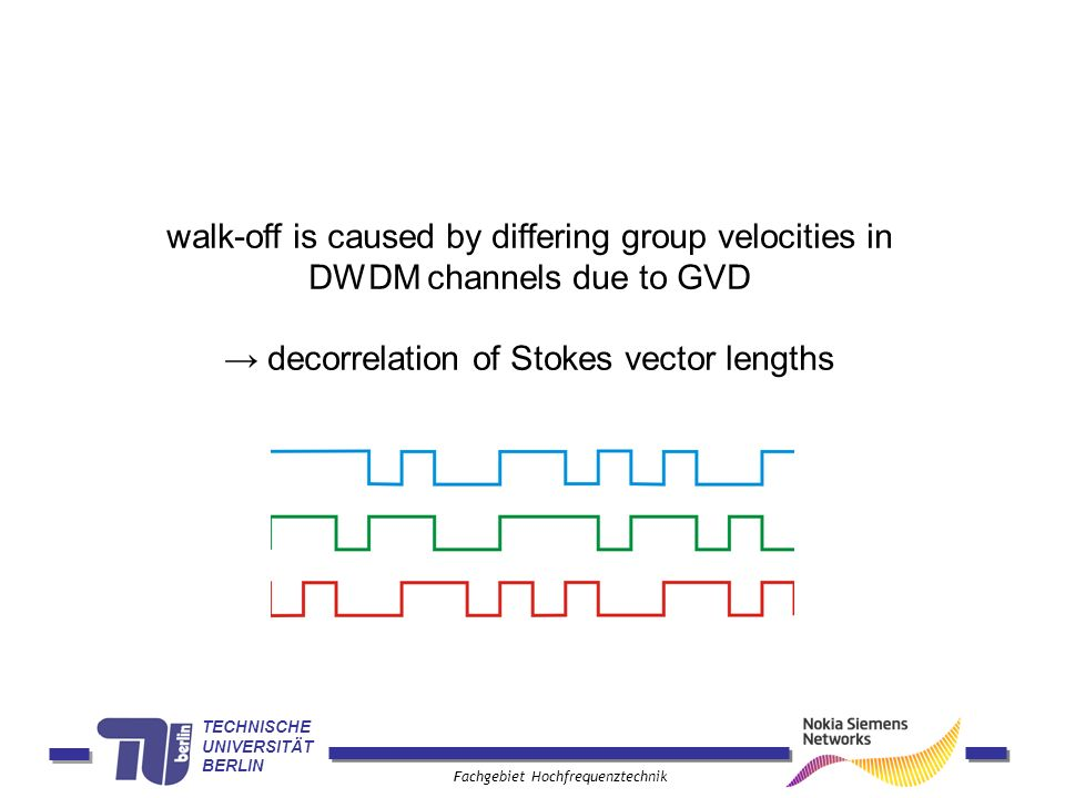 → decorrelation of Stokes vector lengths