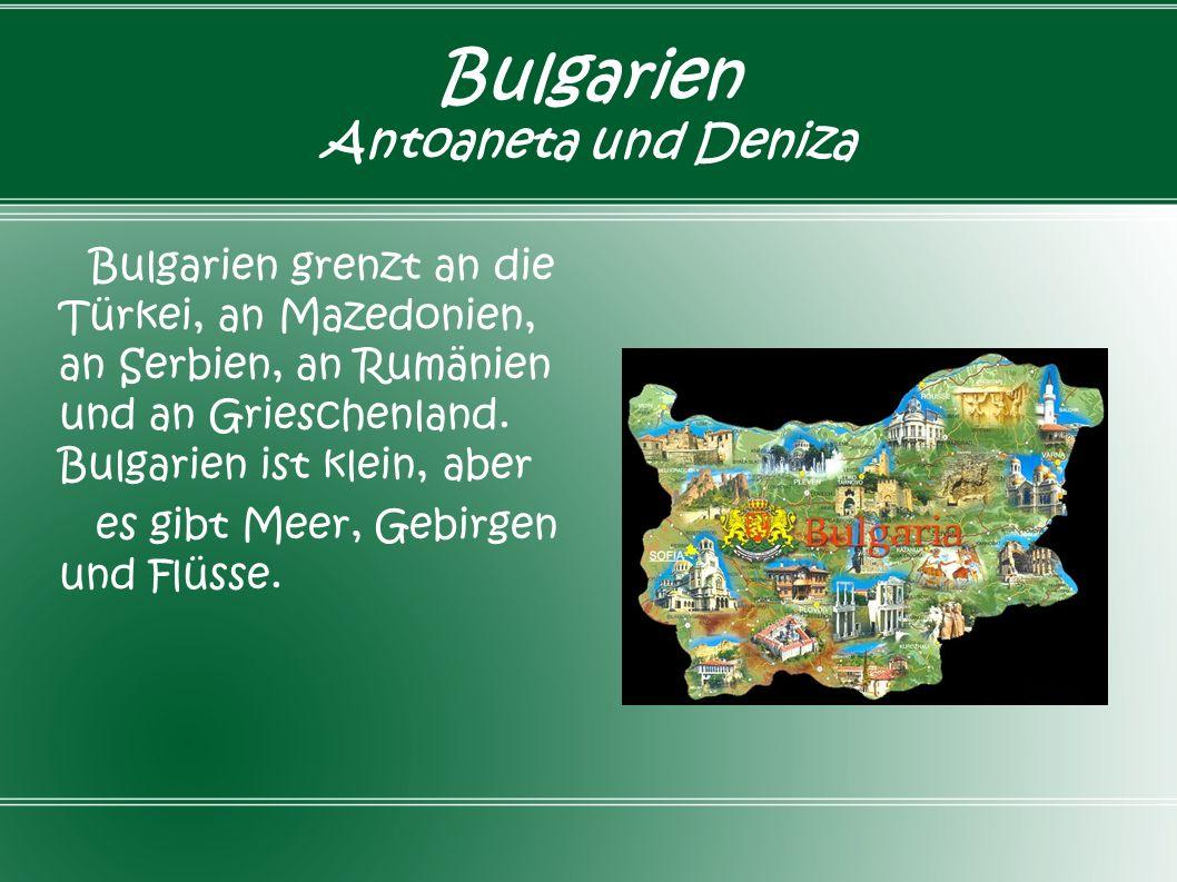 Bulgarien Antoaneta und Deniza