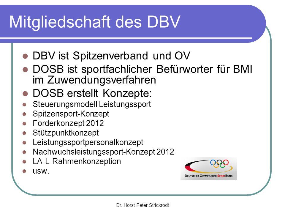 Mitgliedschaft des DBV