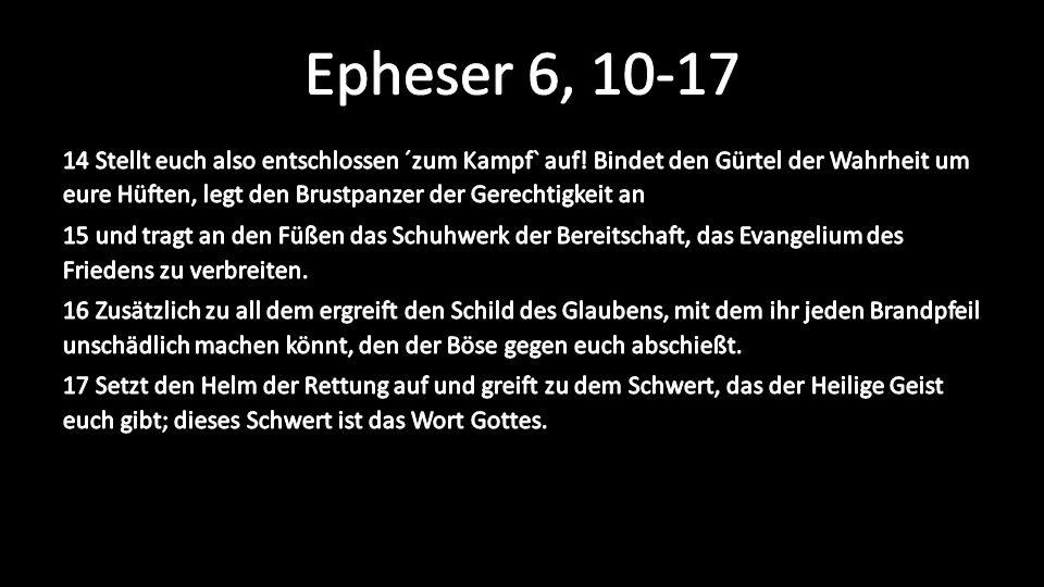 Epheser 6, 10-17