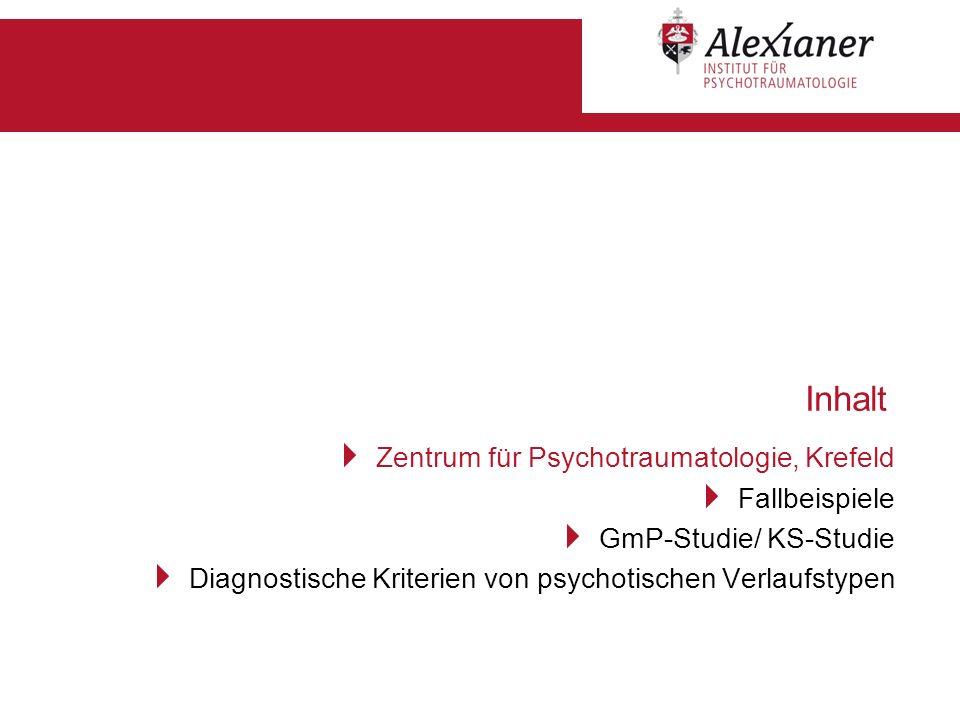 Inhalt Zentrum für Psychotraumatologie, Krefeld Fallbeispiele