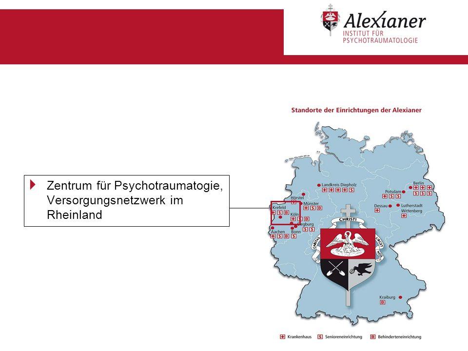 Zentrum für Psychotraumatogie, Versorgungsnetzwerk im Rheinland