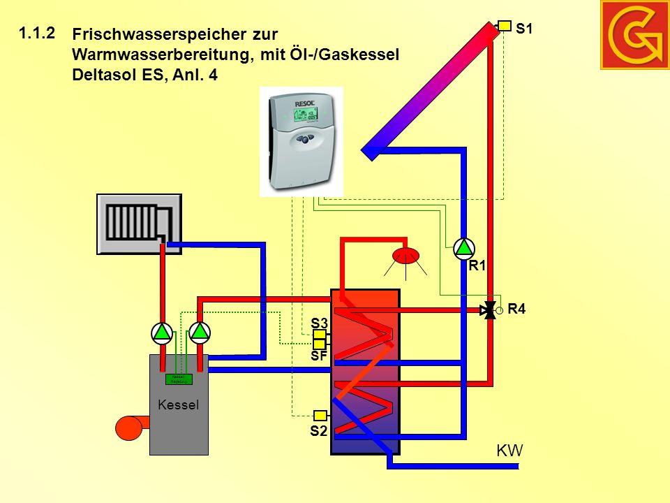 Fantastisch Warmwasser Gaskessel Zeitgenössisch - Der Schaltplan ...