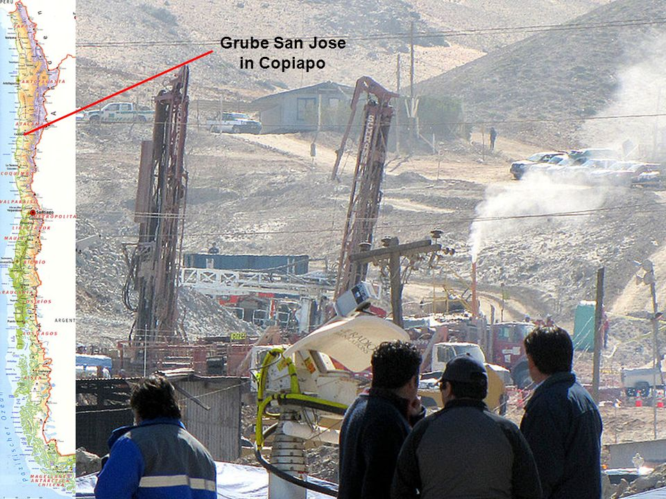 Grube San Jose in Copiapo