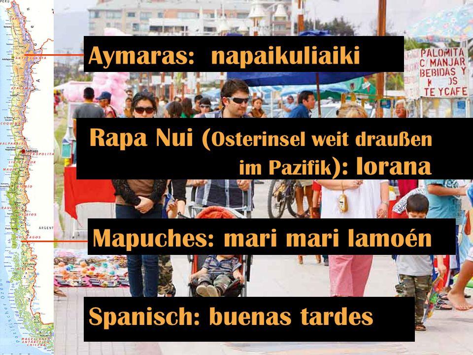 Spanisch: buenas tardes