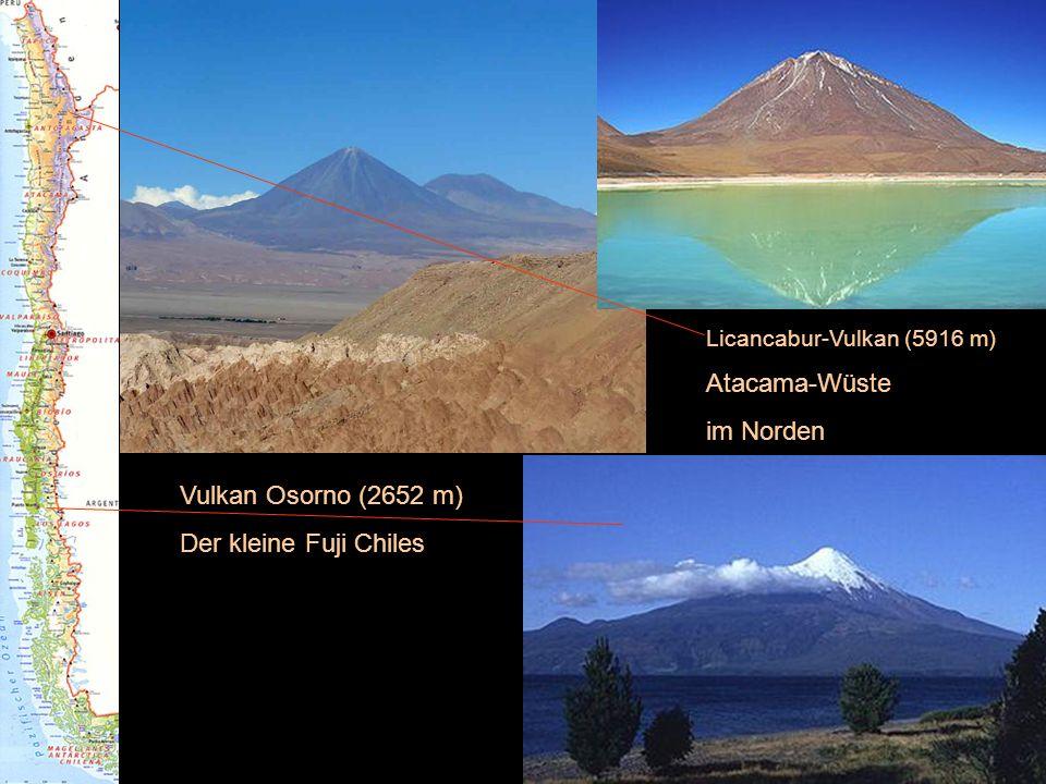 Atacama-Wüste im Norden Vulkan Osorno (2652 m) Der kleine Fuji Chiles