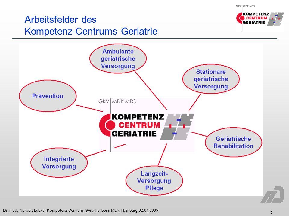 Kompetenz-Centrums Geriatrie