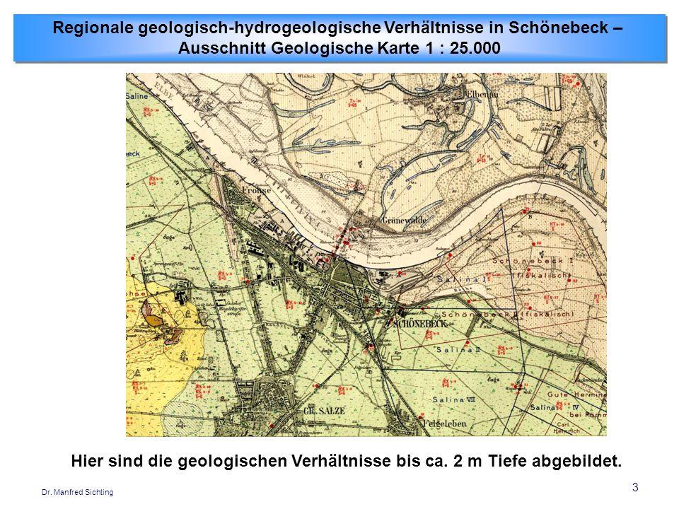 Regionale geologisch-hydrogeologische Verhältnisse in Schönebeck –