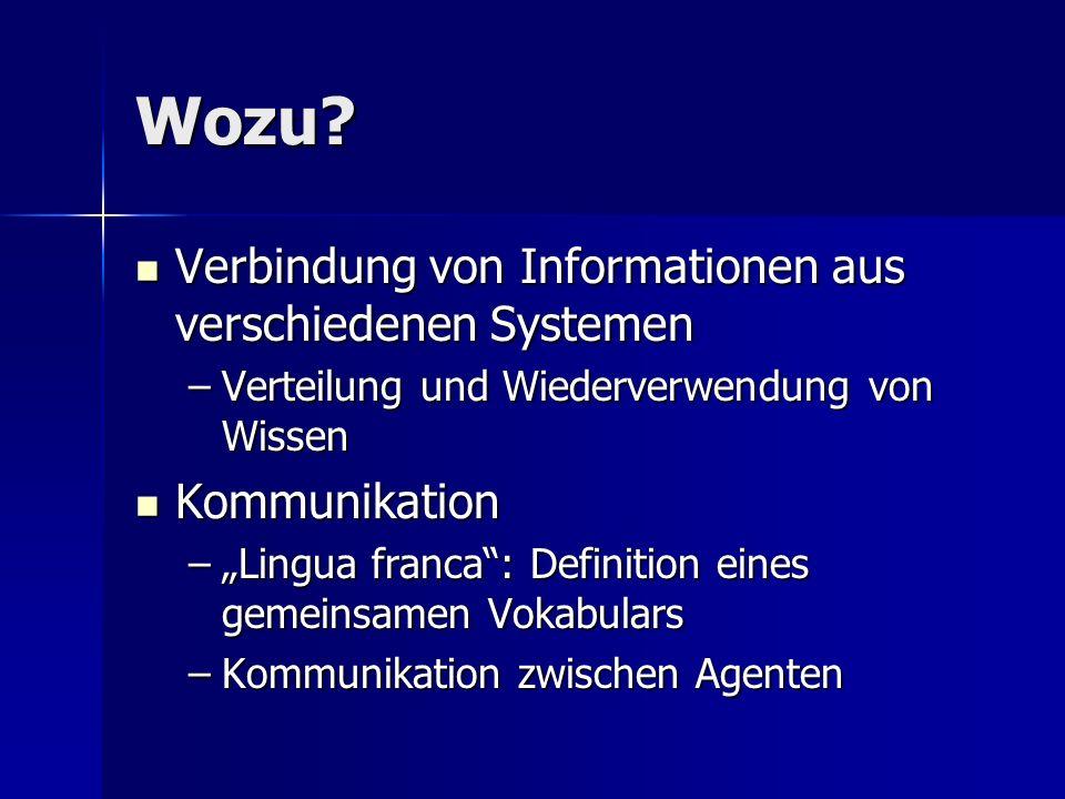 Wozu Verbindung von Informationen aus verschiedenen Systemen