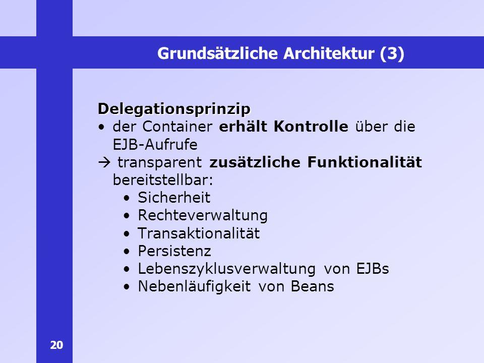 Grundsätzliche Architektur (3)