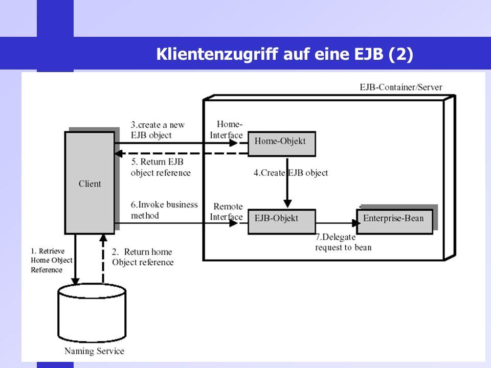 Klientenzugriff auf eine EJB (2)