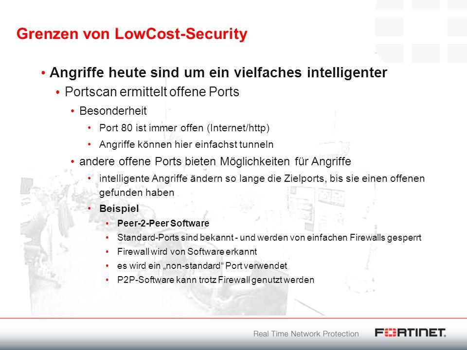 Grenzen von LowCost-Security