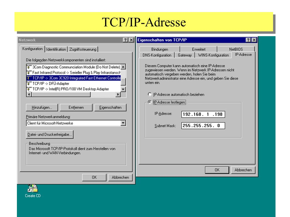 TCP/IP-Adresse