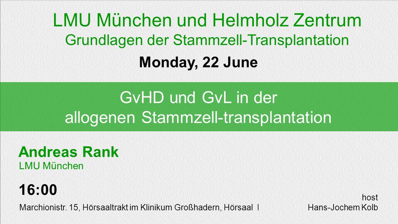 LMU München und Helmholz Zentrum