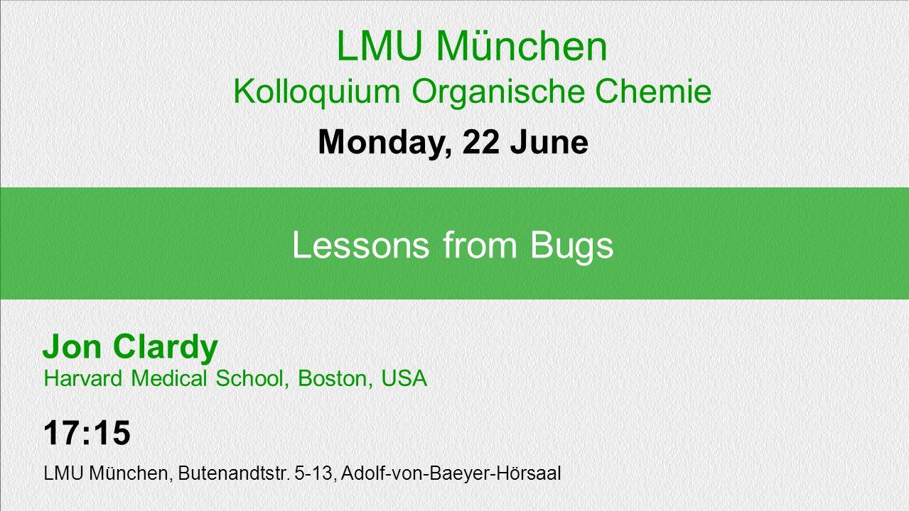Kolloquium Organische Chemie